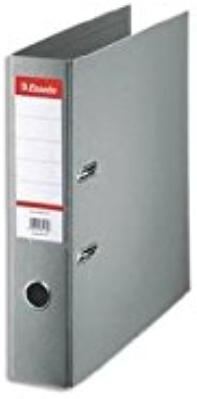 Aktenordner Standard A4, A4, A4, Rücken-75, Farbe grau – 10 Stück B06WGV7ZQH   Zart  f67889