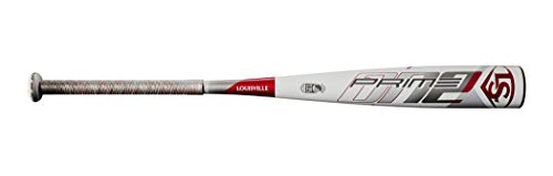 Louisville Slugger unisex-adult 2020 Prime One (-12) 2 3/4' Senior League Baseball Bat, 29'/17 oz, White