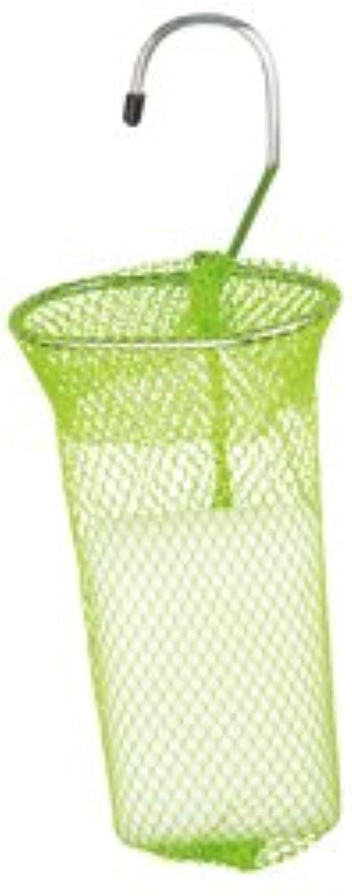 スパークデイジーウェーハ石けんネット リングタイプ 10枚組 グリーン