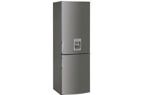 Whirlpool WBE 3325 NF IX AQUA Kühl-Gefrier-Kombination / A+ / Kühlen: 223 L / Gefrieren: 97 L / Edelstahl / No Frost / Wasserspender