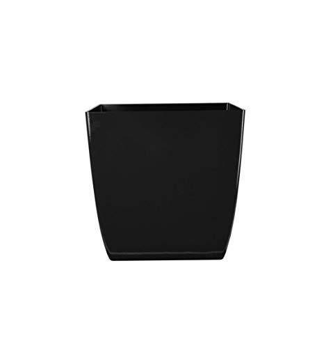 The HC Companies ASP06000P26 Square Planter, 6', Black Onyx