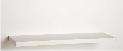 deine-tante-emma Wandboard Wandregal Hängeregal in Weiss Sondermass nur 80 cm breit