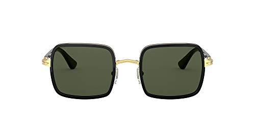 Persol Gafas de Sol PO 2475S Black/Green 50/21/140 unisex
