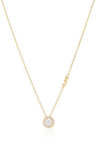 Michael Kors Damen-Kette 925er Silber One Size Gold 32010752