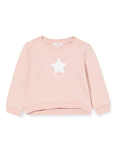 bellybutton Baby-Mädchen Sweatshirt T-Shirt, Silver pink|Rose, 86