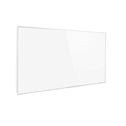Klarstein Wonderwall Smart - Infrarot-Heizung - Wandheizung, Heizgerät, WiFi, Thermostat, Wochentimer, Abschaltfunktion, Allergiker-geeignet, antikweiß, 60x100cm, 600W