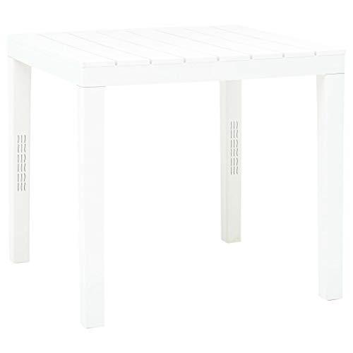 Tisch Qu.80x 80Bali weiß