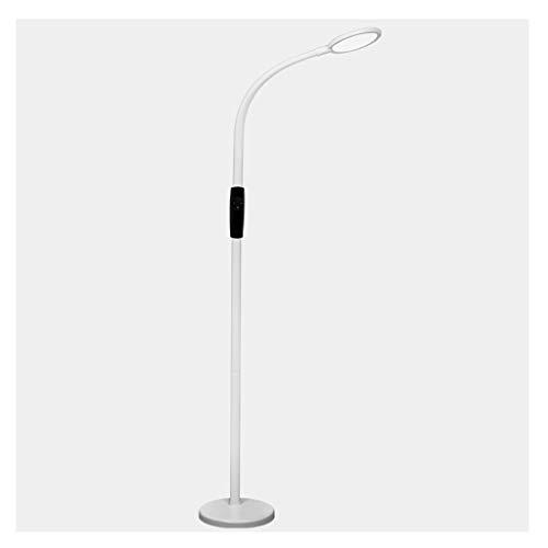 WYZ Floor Light Led-vloerlamp, eenvoudige verticale woonkamer, slaapkamer, studio, balkon, bedlampje met smart touch-dimmer