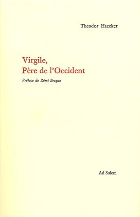 VIRGILE PERE DE L OCCIDENT (Culture)