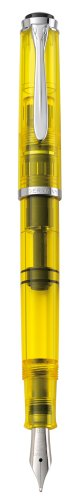 Pelikan Souveran 205 Classic Highlighter Duo Pen Sets, Yellow (975524)