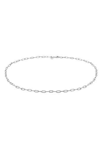 Elli PREMIUM Collares Mujer de Eslabones Tendencia Básica en Plata Esterlina 925