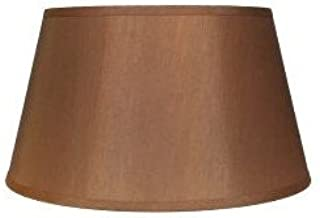 Upgradelights 16 Inch Tapered Drum Table Lampshade 13x16x10.5 (Bronze Silk)