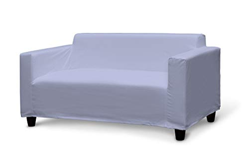 Dekoria Klobo Sofabezug Sofahusse passend für IKEA Modell Klobo violett