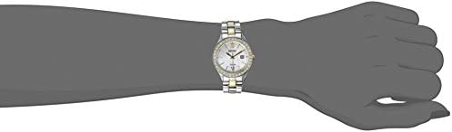 Seiko Women's SUT074 Dress Two-Tone Stainless Steel Swarovski Crystal-Accented Solar Watch WeeklyReviewer