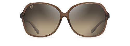 Maui Jim Gafas de sol mujer Taro HS795-18C   Montura color Caramelo con rosa pálido y lentes polarizadas HCL Bronze