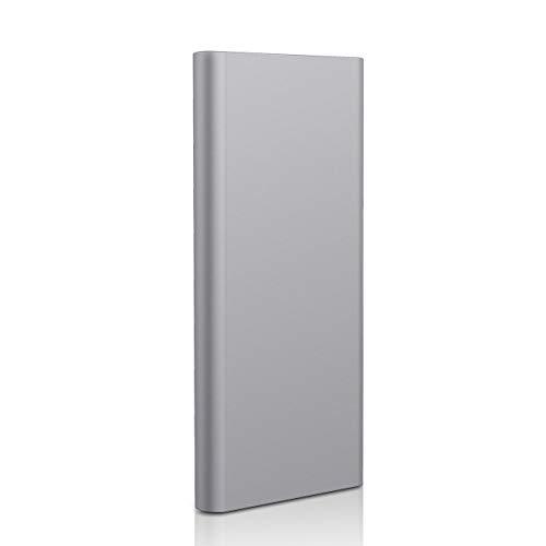 Prode Disco Duro Externo Portátil 1TB, Type C USB3.1 SATA HDD Almacenamiento para PC, Mac, Windows, Apple, Xbox 360 Slim T (1 TB, Gris)