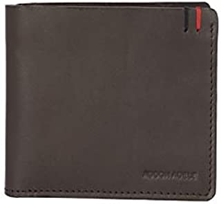 Addon Adele Men's Leather Wallet – Smooth Brown