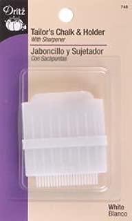 Dritz Bulk Buy Tailor's Chalk and Holder W/Sharpener White 748 (3 Pack)
