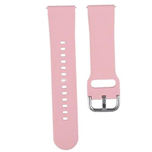 Smart Watch-Uhren-Accessoires.Watch-Strap-Ersatz-Silikon-Uhr-Bands kompatibel mit ZL01 Sport Smartuhren Ersatzgurtzubehör Rosa
