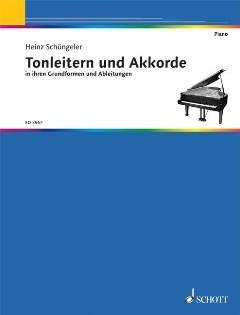 TONLEITERN + AKKORDE - arrangiert für Klavier [Noten / Sheetmusic] Komponist: SCHUENGELER HEINZ