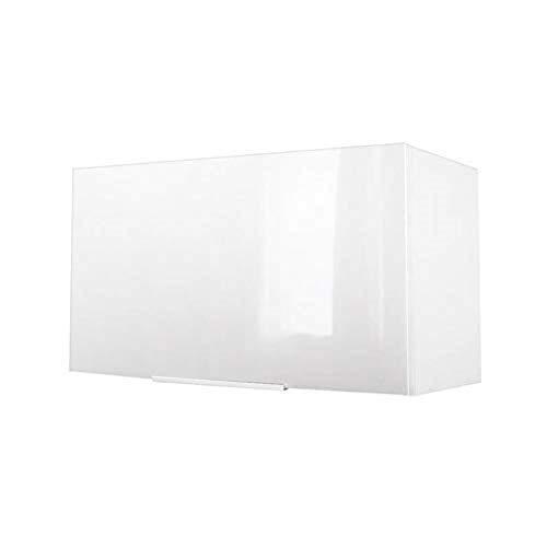 Berlenus CH6HB - Armadio in Stile Cappa, ad Alta brillantezza, Dimensioni: 60 x 34 x 35 cm, Colore: Bianco