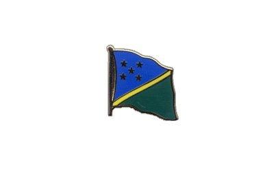 Flaggen-Pin/Anstecker Salomonen Inseln vergoldet