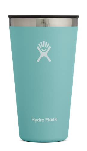 Hydro Flask Tumbler Cup - Stainless Steel & Vacuum Insulated - Press-In Lid - 16 oz, Alpine