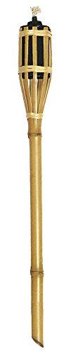 VERDELOOK Torcia in bambù con Contenitore per Olio lampante, 120 cm, Giardino