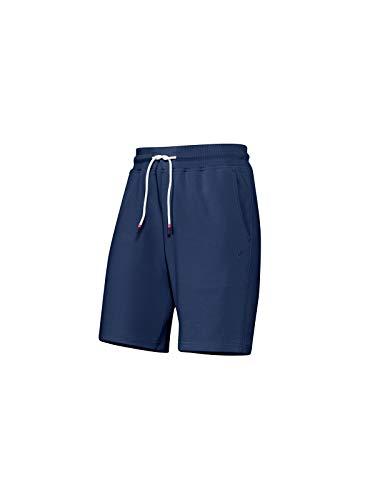 Joy Sportswear NINA Cotton Comfort Kurze Sporthose für Damen mit Komfortbund und Taschen, ideal für Fitnessübungen im Gym oder gemütliche Abende zu Hause Normalgröße, 48, Blue Bell