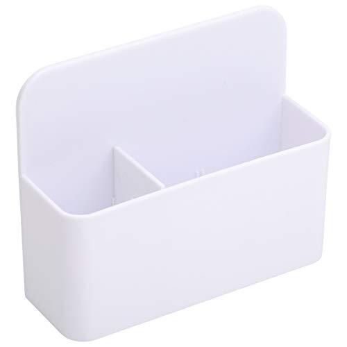 LAOYE Magnetisch Marker Halter Stifthalter für Whiteboard Magnettafel Kühlschrank Spind sowie die magnetische oder metallische Oberflächen Marker Organizer Storage Holder weiß