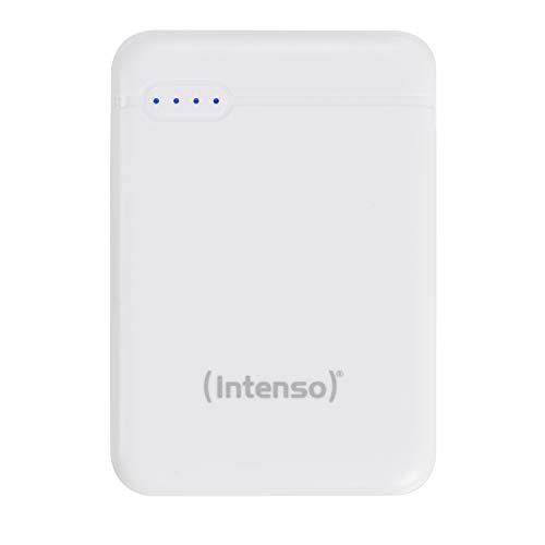 Intenso Powerbank XS 5000, externes Ladegerät (5000mAh, geeignet für Smartphone/Tablet PC/MP3 Player/Digitalkamera) weiß
