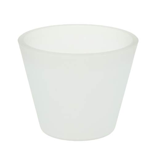 Baoblaze Glas Lampenschirm Ersatzschirm Lampenglas E27 Weiß - Typ 2