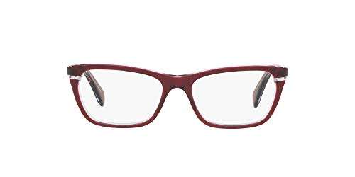 Ralph Lauren RALPH BY 0RA7091 Monturas de gafas, Top Red/Transparente, 53 para Mujer