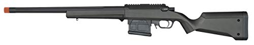 Elite Force Amoeba AS-01 Striker Rifle Gen2 6mm BB Sniper Rifle Airsoft Gun, Black, One Size (2274587)