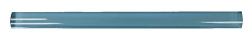 12' Infinity Blue Glass Pencil Trim