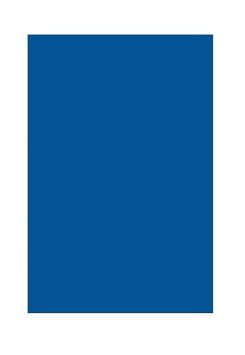 Folia 6435 - gekleurd papier koningsblauw, DIN A4, 130 g/m², 100 vellen - voor het knutselen en creatief vormgeven van kaarten, vensterfoto's en voor scrapbooking