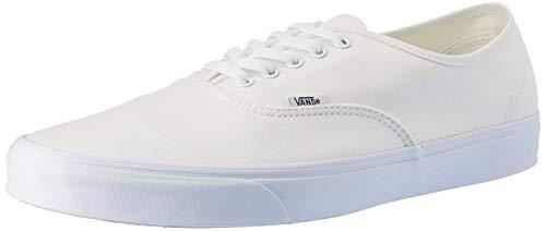 Vans Authentic, Zapatillas de Tela Unisex, Blanco (True White), 43 EU