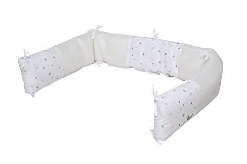 """safe asleep von roba Nestchen Easy Air """"Sternenzauber"""", luftzirkulierendes safe asleep-Nestchen mit AIR-balance System, Babynest"""