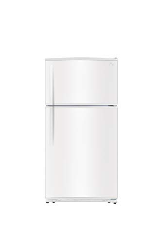 Kenmore 61212 20.8 cu.ft. Top-Freezer Refrigerator with LED...