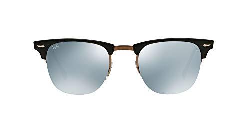 Ray-Ban Óculos de sol masculino Light Ray (RB8056) titânio, Marrom-claro brilhante, 49 mm