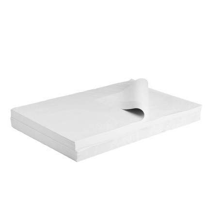 CARTONARA 2 kg edle weiße Packseide 50x75cm | Packpapier Premium Qualität | Polsterpapier für Versand und Umzug | wählbar 2-50kg