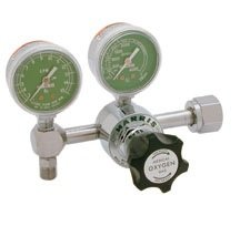 Harris 301-OX15L-540 Pressure Regulator, 0 - 15 LPM, Oxygen from Harris Regulator Products