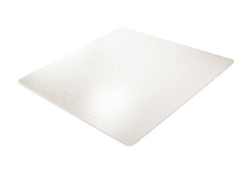 BSM für mittelflorige Teppiche - die milchig transparente Bodenschutzmatte - 12 Größen und Formen zur Auswahl – TÜV geprüft