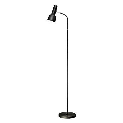 HIGHKAS Lámpara de pie LED Art Deco Lámpara de pie con Control Remoto para Sala de Estar Lámpara Alta Lámpara Alta con Base de Metal para Dormitorio Retro de pie Li