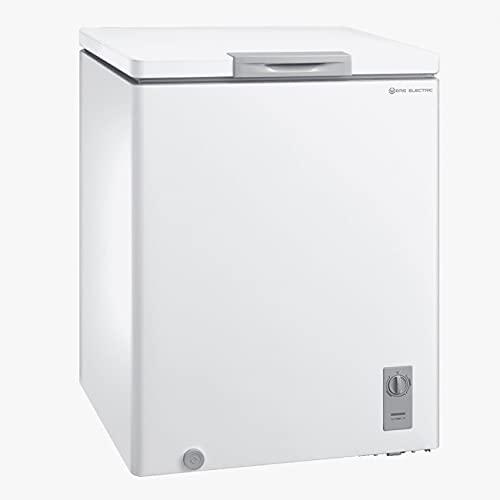 EAS ELECTRIC SMART TECHNOLOGY | EMCF152 | Arcón Congelador 150 litros | Termostato regulable | Función botellero | Cesto desmontable | Fácil descongelación