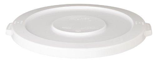CMC 4445WH White Round Lid, 24-1/2