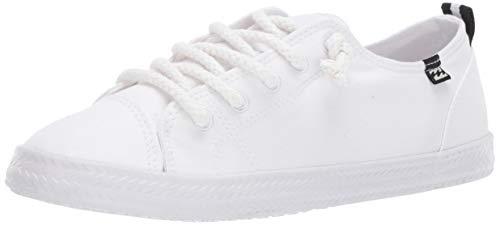 Billabong Women's Marina Canvas Shoes Sneaker, Cloud, 10