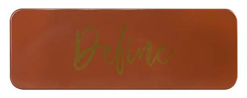 Markwins Essentials Define - Paleta de Bronceador e Iluminador con Brocha Facial - Paleta con Set de Maquillaje Profesional - California Collection - Kit de Maquillaje para Mujeres