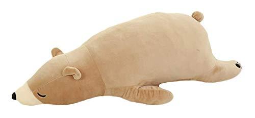 La almohadilla de tiro de peluche, cojines y almohadas Sofá, Almohada Almohada multifuncional Manta, Almohada decorativa CasesSuper relleno suave animal de la felpa del oso polar Juguetes Niño que abr