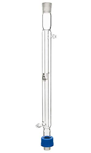 Liebig Condenser, 200mm, Socket/Cone Size 19/26, Interchangeable Screw Thread Joint, Borosilicate Glass - Eisco Labs